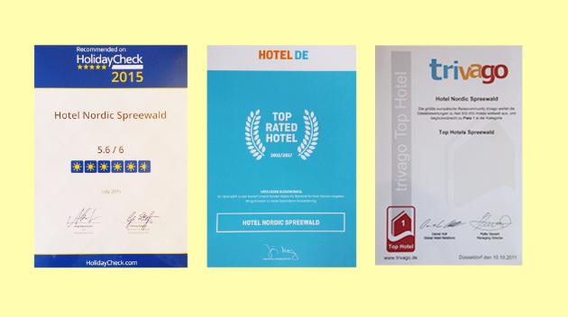 Hotel Nordic Spreewald Awards
