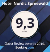 Hotel Nordic Spreewald Award Winner